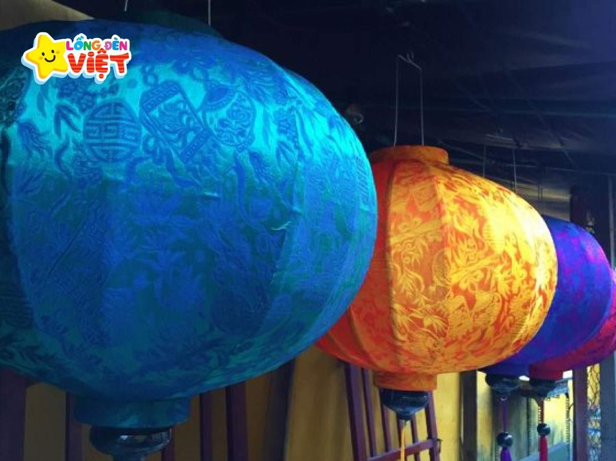 Hoa văn trên đèn lồng là hoa văn truyền thống